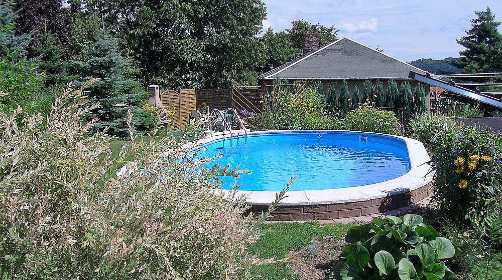 Schwimmb der for Stahlwandbecken oval
